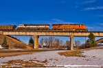 BNSF 6088 and BNSF 9471 Lead C-BKMKCM0-04